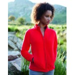 SS49 Fruit of the Loom Ladies Full Zip Fleece